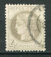 22281 FRANCE N°52a° 4c. Gris Jaunâtre Cérés IIIè. République   1872   B/TB - 1871-1875 Ceres