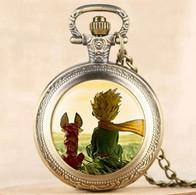 Montre Gousset NEUVE ( Pocket Watch ) - Le Petit Prince Saint-Exupéry ( Ref 5 ) - Orologi Da Polso