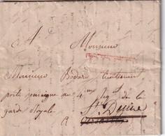 FRANCE LETTRE DE CRAON AVEC CORRESPONDANCE SANS DATE - 1801-1848: Vorläufer XIX