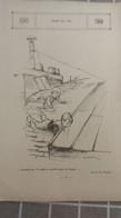 AFFICHE DESSIN - Point De Vue, Grouille Toi Il Y Met Un Oreiller Sous Les Fesses.................dessin De POULBOT - Manifesti