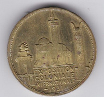 Médaille De L'Exposition Coloniale Paris 1931 Pavillon De L'Afrique - Autres