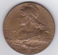 Médaille De La Ville D'Asnières  :  Pose De La 1ère Pierre De L'Hotel De Ville 10 Octobre 1897 - Autres