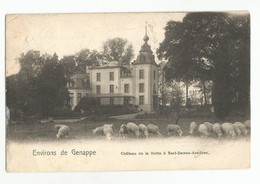 Genappe Château De La Hutte à Sart-Dames-Avelines Carte Postale Ancienne - Genappe
