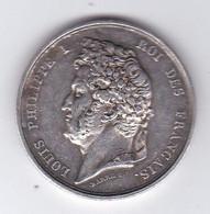 Médaille De Louis Philippe  Arc De Triomphe 20 Juillet 1836 Argent - Royaux / De Noblesse