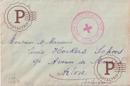 BERGERAC DORDOGNE  WEHRMACHT CROIX ROUGE DE BELGIQUE EN FRANCE  A  ARLON BELGIQUE - Croix Rouge