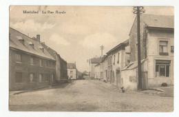 Morialmé La Rue Royale Carte Postale Ancienne - Non Classificati