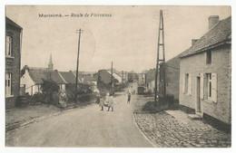 Morialmé Route De Florennes Carte Postale Ancienne - Non Classificati