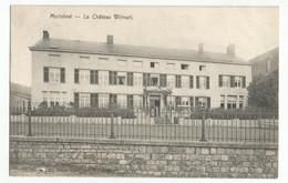 Morialmé Le Château Wilmart Carte Postale Ancienne - Non Classificati