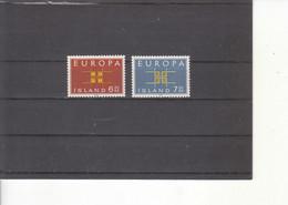 Europa 1963 Islande - 1963