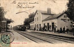 SEINE ET MARNE - 77 - BRIE COMTE ROBERT - La Gare - Brie Comte Robert
