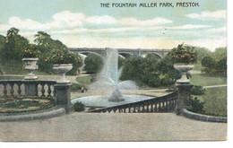 LANCS - PRESTON - THE FOUNTAIN, MILLER PARK  La1185 - Otros
