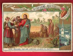 Image Pieuse Religieuse Holy Card Ed Monastère Notre Dame D'Aiguebelle Epis Froissés Par Les Apôtres Le Jour Du Sabbat - Devotion Images
