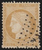 France N°59, Oblitéré ANCRE Maritime - TB - Signé A.BRUN - 1871-1875 Ceres
