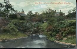 LANCS - PRESTON - AVENHAM PARK - THE DUCK POND 1909 La1199 - Otros