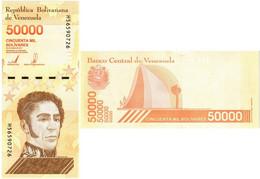 VENEZUELA 50000 BOLIVARES 2019 P NEW - UNC - Venezuela