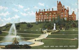 LANCS - PRESTON - MILLER PARK AND PARK HOTEL 1905  La1172 - Otros