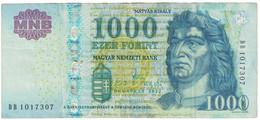 Billet, Hongrie, 1000 Forint, 2012, TTB - Ukraine
