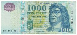 Billet, Hongrie, 1000 Forint, 2011, KM:197c, TTB - Ukraine