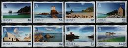 Jersey 2014 - Mi-Nr. 1817-1824 ** - MNH - Natur - Landschaften - Jersey