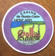 98 MONACO MONTE-CARLO CASINO SOCIÉTÉ DES BAINS DE MER JETON TOKENS COINS CHIPS - Casino