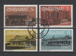 (S2682) ZIMBABWE, 1980 (75th Anniversary Of The Post Office Savings Bank). Complete Set. Mi ## 247-250. Used - Zimbabwe (1980-...)