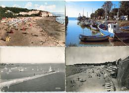 4 CP 10 X 15 * MESCHERS / Plage Des Nonnes / Le Port / FOURAS Jetée Sud / La Plage - Non Classificati