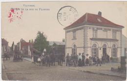 Vilvoorde - Ingang Van De Vlaanderenstraat (Decrée) (Gekleurde, Geanimeerde En Gelopen Prachtkaart Zonder Zegel) - Vilvoorde