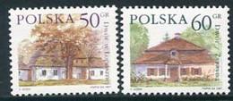 POLAND 1997 Definitive: Manor Houses 50, 60 Gr, MNH / **  Michel .3645-46 - Ongebruikt