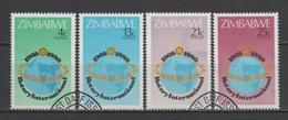 (S2684) ZIMBABWE, 1980 (75th Anniversary Of Rotary International). Complete Set. Mi ## 242-245. Used - Zimbabwe (1980-...)