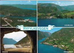 1 AK Norwegen * Ansichten Der Landschaftsroute Ryfylkevegen * - Norwegen