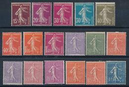 EC-687: FRANCE: Lot Avec Semeuses* N°189/196-197/205 - 1906-38 Semeuse Con Cameo