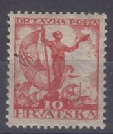 Yugoslavia, Kingdom SHS, Issues For Croatia 1919 Mi#91 B, Perforation 12 1/2, Mint Never Hinged - Nuovi