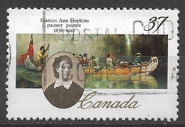 Canada 1988. Scott #1227 (U) Ann Hopkins (1838-1918), Painter *Complete Issue* - Used Stamps