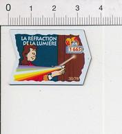 Magnet Le Gaulois Inventions 1665 Découverte La Réfraction De La Lumière ( Père Francesco Maria Grimaldi ? ) Mag12 - Magnets