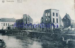 Postkaart - Carte Postale / Oudenaarde Audenarde / Tribunaal - Palais De Justice / Niet-beschreven Non-écrit / Ca.1920 - Oudenaarde