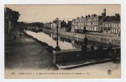 80 ABBEVILLE   Le Quai De La Pointe Et Les Entrepôts Des Douanes - Abbeville