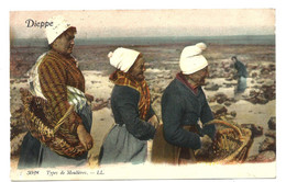 DIEPPE - Type De Moulières (1912) - Dieppe