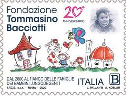 Italia - 2020 - Usato/used - Tommasino Bacciotti - 2011-...: Usati