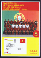 """Gc5885 PORTUGAL Selection 2002 JAPAN Team TUGA Affiche Publicitaire """"advertising Poster Coming New Issue Stamps"""" RARE - 2002 – Corea Del Sud / Giappone"""