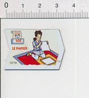 Magnet Le Gaulois Inventions Invention Du Papier En 105 Après JC (en Chine) Mag13 - Magnets