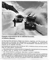Photo Extraite Revue 1970 Déneigeuse Chasse-neige VALLOIRE Savoie (73) - Unclassified