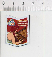 Magnet Le Gaulois Inventions Invention En 120 Après JC Du Principe Des Cordes Frappées Instrument Musique Mag13 - Magnets