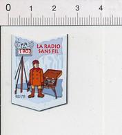 Magnet Le Gaulois Inventions 1902 Invention De La Radio Sans Fil TSF ( Marconi ?? ) Mag13 - Magnets