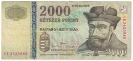 Billet, Hongrie, 2000 Forint, 2007, KM:198a, TTB - Ukraine