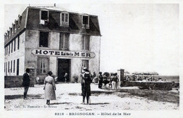 29  BRIGNOGAN  HOTEL DE LA MER ANIME - Brignogan-Plage