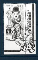France 2021. Charlie Chaplin The Kind 100ans ..Cachet Rond Gomme D'origine - Used Stamps