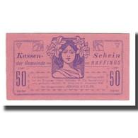 Billet, Autriche, Raffings N.Ö. Gemeinde, 50 Heller, Valeur Faciale 2, 1920 - Autriche