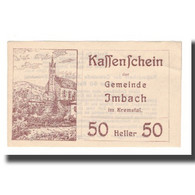 Billet, Autriche, Imbach N.Ö. Gemeinde, 50 Heller, Texte 1, 1920, 1920-12-31 - Autriche