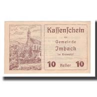Billet, Autriche, Imbach N.Ö. Gemeinde, 10 Heller, Texte 1, 1920, 1920-12-31 - Autriche