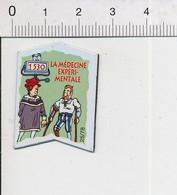 Magnet Le Gaulois Inventions 1530 Invention De La Médecine Expérimentale ? Ambroise Paré ?? Jambe De Bois Prothèse Mag13 - Magnets